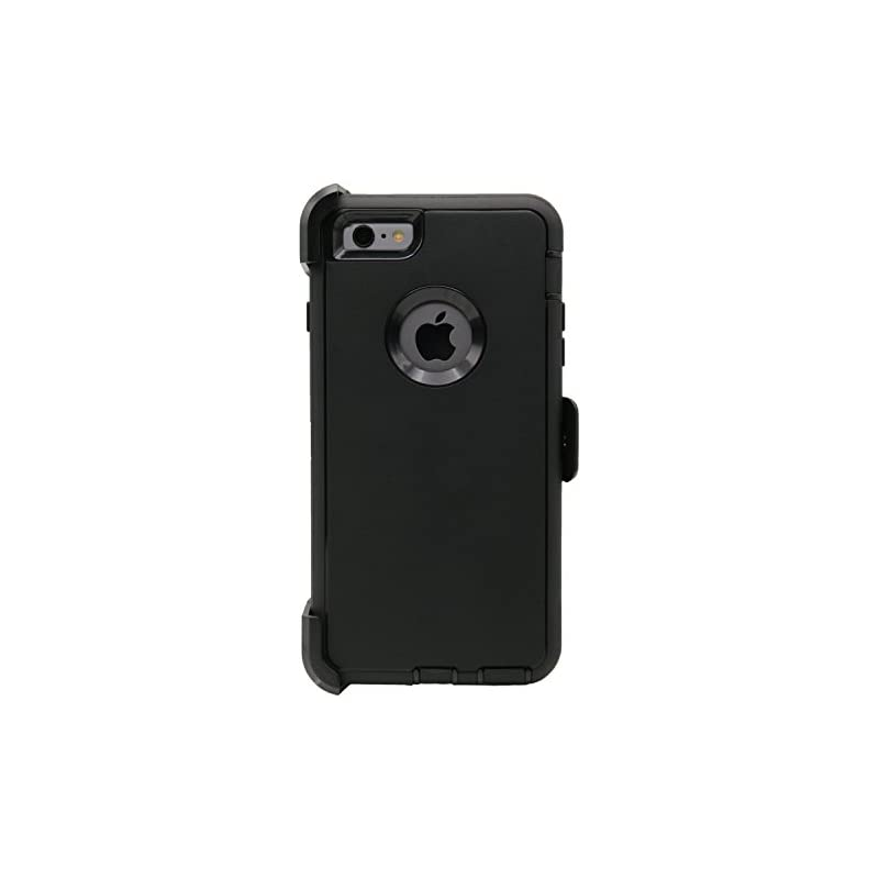 For Zte Max Xl Belt Clip Case Black Holster Hybrid Shockproof Phone Cover Terrific Value Cell Phones & Accessories