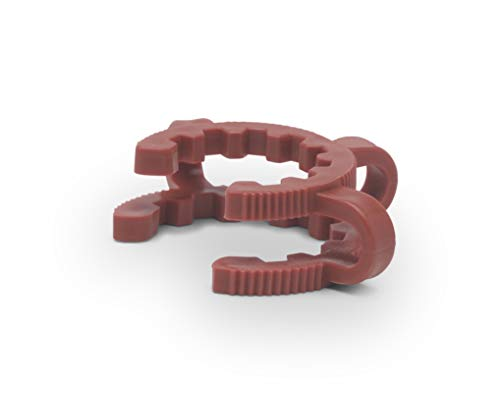 Goldleaf Scientific ACC045PK #45 Plastic Keck Clips (5-Pack) by Goldleaf Scientific