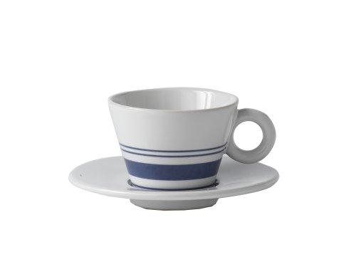 Royal Doulton Terence Conran Chophouse Espresso Cup & Saucer, Set of 2, 3 -ounces -