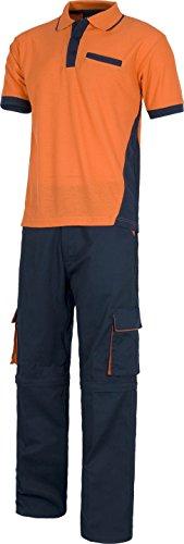 Polo Bicolor Pantalon Orange Gants Détachable Marine Wset1465 Travail D'équipe qRxwBSB
