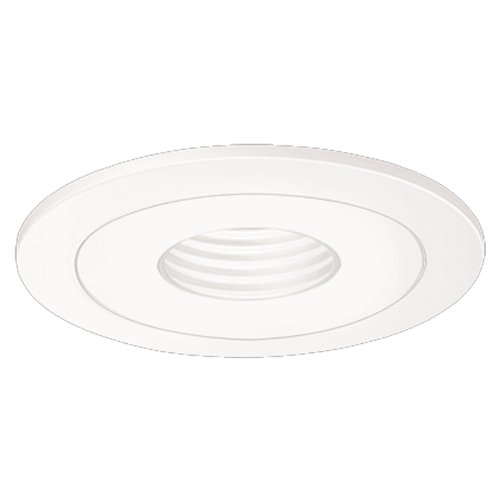HALO Recessed 1419W 4-Inch Trim Pinhole with White Baffle - Low Voltage White Trim