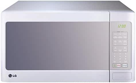 LG LCS1413SW Countertop Microwave Oven with EasyClean, 1.4 cu. ft., White