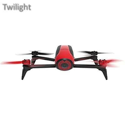Parrot BeBop 2 Drone with 14 Megapixel Flight Camera (Red) from Twilight
