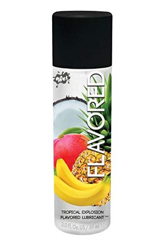 Wet Lubes Wet Flavored Tropical Explosion 3.0 Fl.oz/89ml