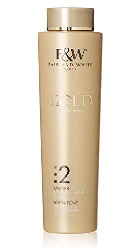 FAIR & WHITE 2: GOLD REVITALIZING BODY LOTION WITH ARGAN OIL, 500ML / 17.6FL.OZ