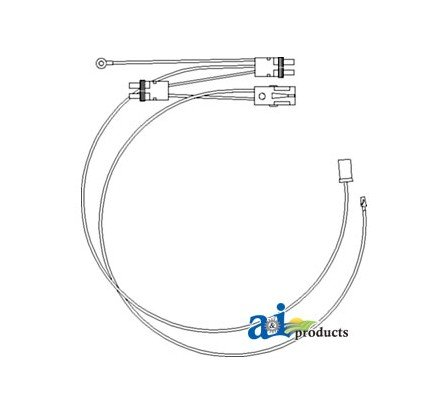 amazon com re203464 wiring harness cab roof pressure switch fits rh amazon com
