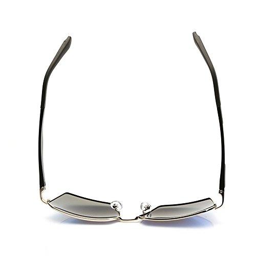 Viajar de Aire polarizadas Mujer Deportes de Sol Volar para de polarizadas polarizadas Adecuado de Gafas al Sol Rana piloto Sol Espejo Libre Gafas Gafas Piloto Gafas de para w1HvqITT