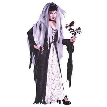 Bride Of Darkness Adult Costumes (Bride of Darkness Adult Costume - Medium/Large)