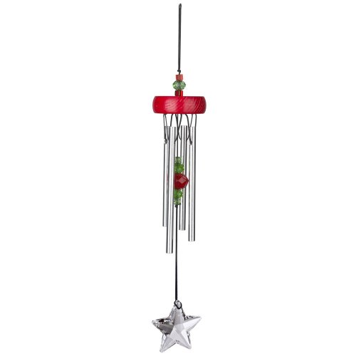 Woodstock Red Starlight Chime- Décor Designs Collection For Sale