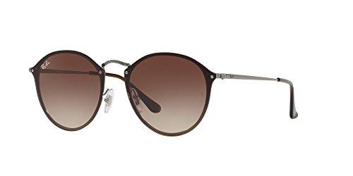 Ray-Ban Metal Unsiex Square Sunglasses, Gunmetal, 58 - Ray Parts Ban Glasses