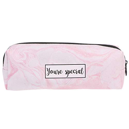 Dabixx Marble Pencil Case Stationery School Supplies Storage ...