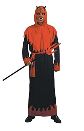 Halloween Costume 38.Adult Mens Sinister Devil Costume For Halloween Fancy Dress Approx