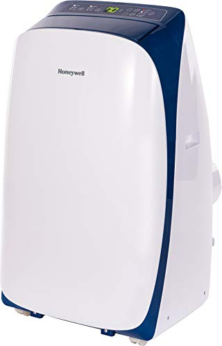 Honeywell Portable Air Conditioner, Dehumidifier & Fan for Rooms Up to 500 Sq. Ft with Remote Control, HL12CESWB