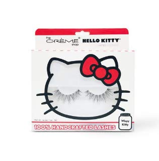 (The Crème Shop x Sanrio Hello Kitty 100% Handcrafted Lashes (Wispy Wink))