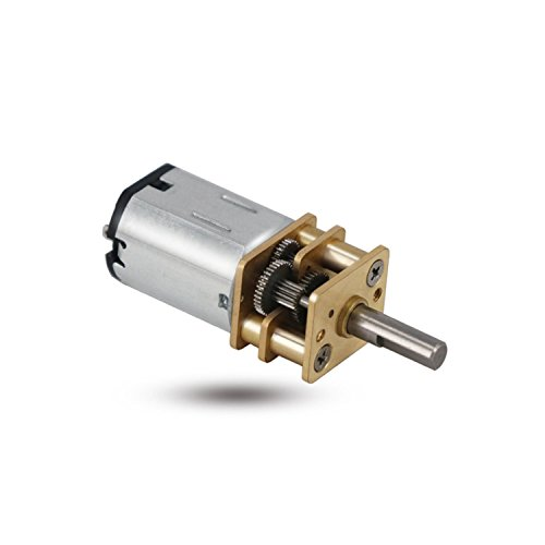 Greartisan DC 3V 19RPM N20 High Torque Speed Reduction Motor with Metal Gearbox Motor for DIY RC Toys