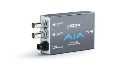 - AJA HA5 HDMI to SD/HD-SDI Video and Audio Converter
