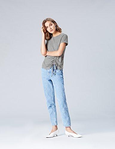 Shirt Donna FIND T Marl Grey Girocollo Grigio 5x7F7qw