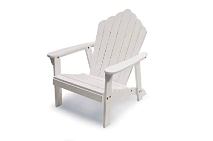 Amazon.com : Jack Post JN-20W Jennings Adirondack Chair ...