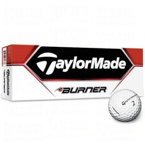 TaylorMade Burner Golf Ball (Pack of 12), Outdoor Stuffs