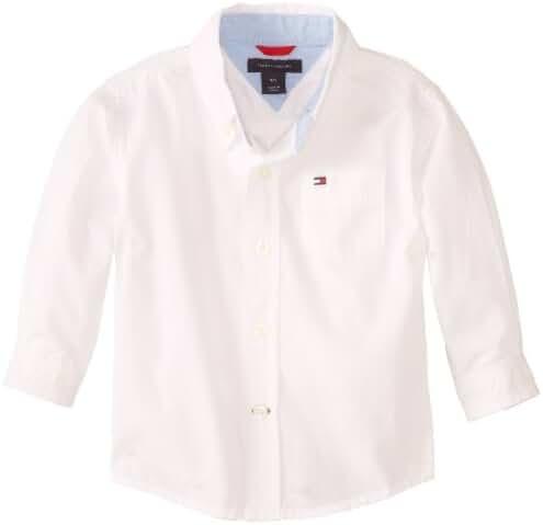 Tommy Hilfiger Baby Boys' Long Sleeve Classic Shirt