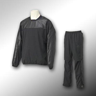 adidas ウィンドブレーカー上下 アディダスプロフェッショナル ブラックシリーズ品番:JED37-JED36 B015VUVAXY2XO