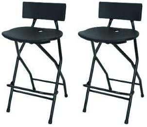 BestMassage Bar Stool Adjustable Height Leather Bar Stools with Seat Back Pad,Set of 2