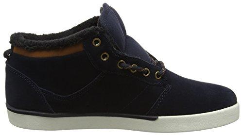 480 Mid Chaussures Etnies Skateboard brown white De Jefferson navy Homme Blau Bleu UPPwqxE