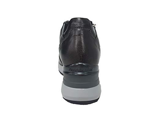 806611 Antracite 35 Giardini Nero Donna Sneaker di qYSwIxW