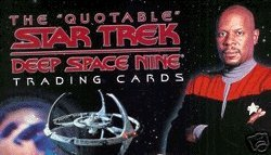 (The Quotable Star Trek Deep Space Nine Base Trading Card Set of 108)
