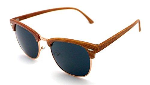 Sunglasses Madera de Alta Calidad Hombre S5389 Sol Mujer Gafas UV 400 q16xUPqw
