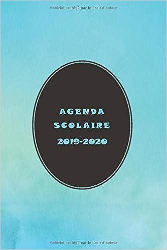 AGENDA SCOLAIRE 2019-2020: PROFESSEUR DES ÉCOLES ...