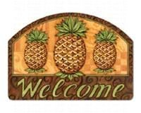 Pineapple Welcome Mailwraps Pineapples