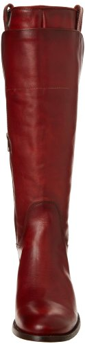 Red canvas Leather mujer Frye Burnt Smooth Melissa Tall 76932 Botas Vintage de Riding xwxn8SXqP