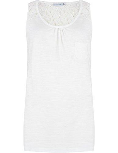 Pastunette 4071-357-1-100 Women's White Cotton Pyjama Top