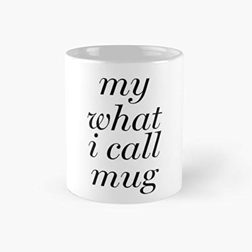 Miranda - What I Call Mug Mug, my what i call Funny Mugs, 11 Ounce Ceramic Mug, Perfect Novelty Gift Mug, Tea Cups, Funny Coffee Mug 11oz, Tea Mugs -