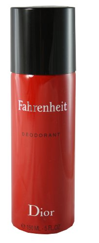 Price comparison product image Christian Dior Fahrenheit Deodorant Spray for Men, 5 Ounce
