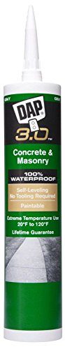 12 Pack Dap 18370 3.0 Advanced Self-Leveling Concrete Sealant - Gray 9-oz Cartridge by DAP
