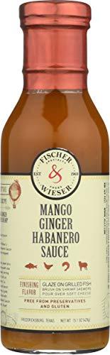 Fischer & Wieser Sauce Mango Ginger Habanero -- 15.1 oz