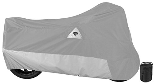 Nelson-Rigg DE-500-05-XX Defender 400/500 Motorcycle Cover, All-Weather, Waterproof, UV, Air Vents, Heat Shield, Windshield Liner, Compression Bag, Antenna Grommets, XX-Large Fits most Touring motorcycles Harley Davidson Ultra or Honda Goldwing -