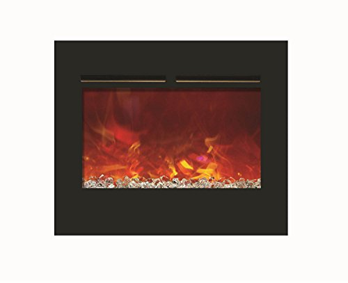 Cheap Amantii Zero Clearance Series Built-In Flush Mount Electric Fireplace 30 Inch Black Friday & Cyber Monday 2019