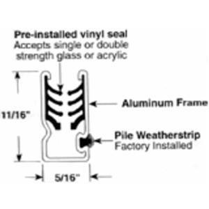 PRIME LINE Products PL 14177 Mill C Wind Sash Frame