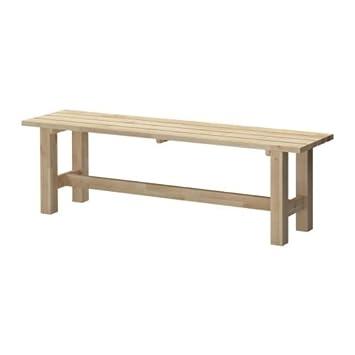 Ikea Gartenbank ikea norden bank birke 150 cm amazon de küche haushalt
