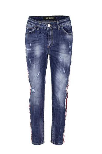 Bleu Rd1312f970blue Jeans Femme Revise Coton qEUPww6Tx
