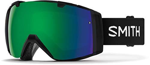 - Smith Optics I/O - Asian Fit Adult Snow Goggles - Black/Chromapop Sun Green Mirror