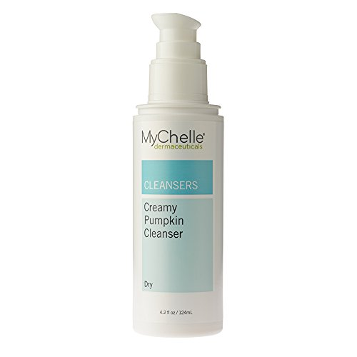 MyChelle Creamy Pumpkin Cleanser, Antioxidant-Rich Hydrating Face Wash for Normal to Dry Skin Types, 4.2 fl (Creamy Hydrating Cleanser)