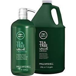 Paul Mitchell Tea Tree Shampoo Gallon and Conditioner Liter