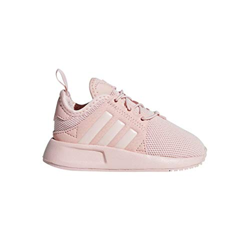 adidas Originals Girls' X_PLR EL I Running Shoe, Ice Pink, 8 M US Infant