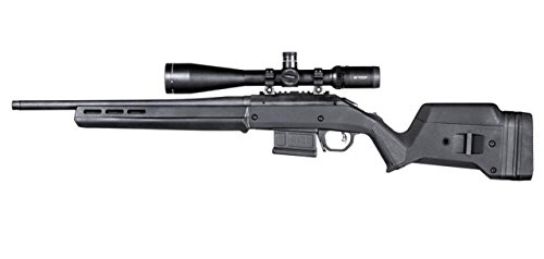 Magpul Industries Hunter American Black Polymer Fits Ruger American Short Action Rifles Stock