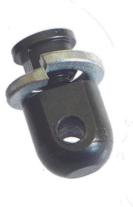 Keymod Swivel Stud / Keymod Harris Bipod Adapter mount, AC-SW171, Standard, Steel, Black Tufforce