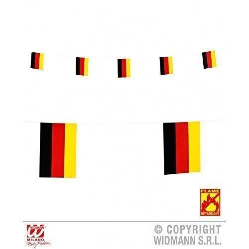 Guirnalda con alemán Bandera 6 m / Cadena banderillas ...